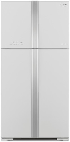Hitachi-563-Litre-White-Glass-French-Door-Fridge on sale