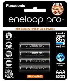Panasonic-BK-4HCCE4BT-AAA-Eneloop-Pro-Rechargeable-Batteries on sale