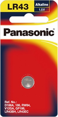 Panasonic-LR-43PT1B-Micro-Alkaline-Coin-Cell on sale