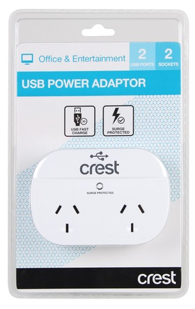 Crest-PWA04976-USB-Power-Adaptor on sale