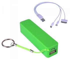 Laser-PB-2201K-GRN-2200mah-Power-Bank-Green on sale