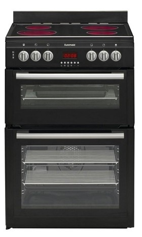 Euromaid-60cm-Electric-Freestanding-Oven on sale