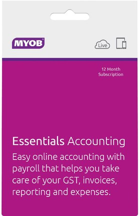 MYOB-Essentials-Accounting-Unlimited-Payroll-12mth-Suscription- on sale