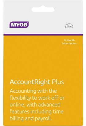 MYOB-AccountRight-Plus-12mth-Subscription on sale