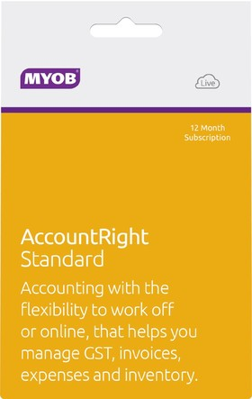 MYOB-AccountRight-Standard-12mth-Subscription on sale
