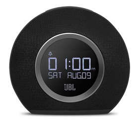 JBL-JBLHORIZONBLKEU-Bluetooth-Clock-Radio-Black on sale