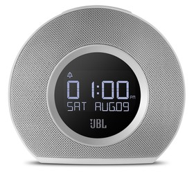 JBL-JBLHORIZONWHTEU-Bluetooth-Clock-Radio-White on sale