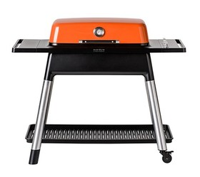 Everdure-by-Heston-Blumenthal-Furnace-Orange-Gas-BBQ-with-Stand on sale