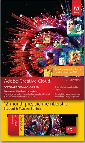 Adobe-Creative-Cloud-Student-Teacher-Edition on sale