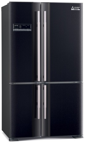 Mitsubishi-MR-L650EH-D-B-A-650L-French-Door-Fridge on sale