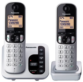 Panasonic-KX-TGC222ALS-DECT-Cordless-Phone-System on sale