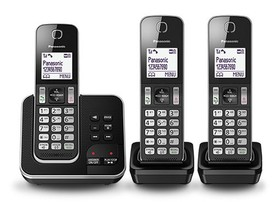 Panasonic-KX-TGD323ALB-Digital-Cordless-Phone-System on sale