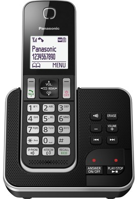 Panasonic-KX-TGD320ALB-Digital-Cordless-Phone-System on sale