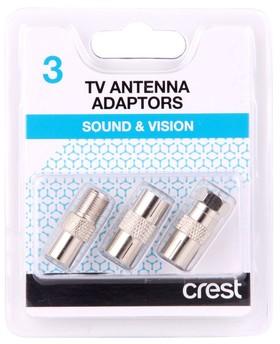 Crest-CBCAPK3-Coaxial-Adaptor-3Pk on sale