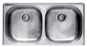 Franke-GEX620-B-2-Bowl-Stainless-Steel-Sink on sale