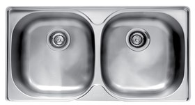 Franke-GEX620-B-2-Bowl-Stainless-Steel-Sink on sale