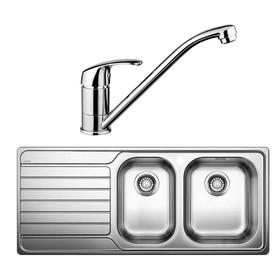 Blanco-DINAS8S175RK-BT489-Sink-Tap-Pack- on sale