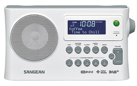 Sangean-DPR-16WH-DABFM-RDS-Portable-Digital-Radio on sale