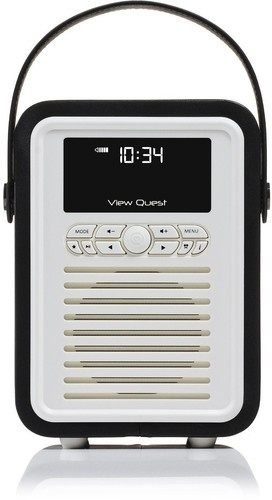 VQ-Retro-Mini-DAB-Radio-VQ-MINI-BK-Black on sale