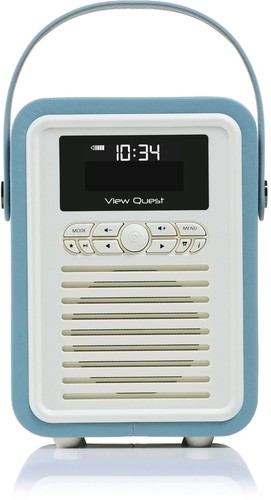 VQ-Retro-Mini-DAB-Radio-VQ-MINI-BL-Blue on sale