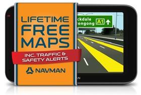 Navman-EZY350LMT-GPS-System-5-LCD-4GB-Bluetooth- on sale