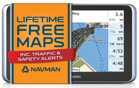 Navman-MY660LMT-GPS-System-4GB-6-LCD-Bluetooth on sale