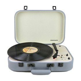 Crosley-CR6026A-GY-Coupe-Bluetooth-Turntable-Grey on sale