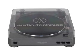Audio-Technica-AT-LP60-USB-Gun-Metal-Belt-Driven-USB-Turntable on sale