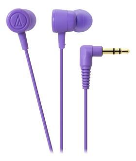 Audio-Technica-ATH-CKL220-DIP-In-Ear-Headphones-Purple on sale