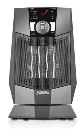 Sunbeam-HE2125-Compact-Ceramic-Oscillating-Heater on sale