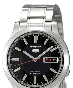 Seiko-Gents-Stainless-Steel-Automatic-Watch-Model-SNK795K on sale