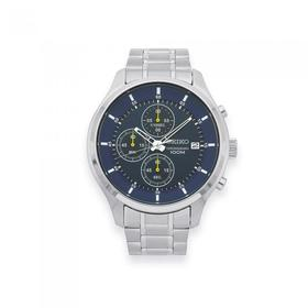 Seiko-Mens-Silver-Tone-Watch-Model-SKS537P on sale