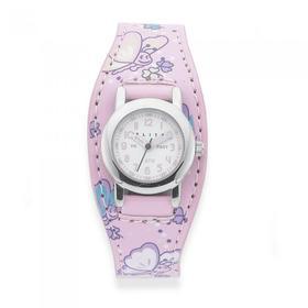 ELITE-Girls-Pink-Butterfly-Watch on sale