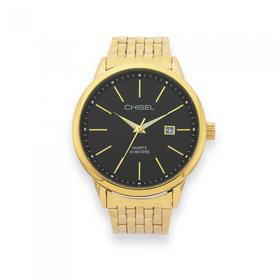 Chisel-Gents-Gold-Tone-Watch on sale
