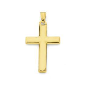 9ct-Gold-Cross-Pendant on sale