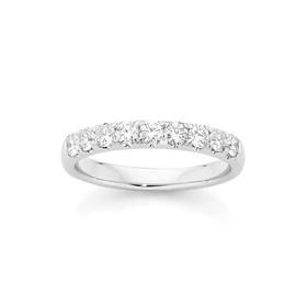18ct-White-Gold-Diamond-Anniversary-Ring on sale