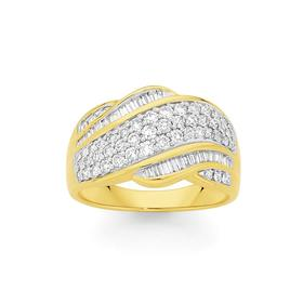 9ct-Gold-Diamond-Dress-Band on sale