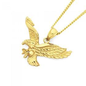 9ct-Gold-Eagle-Gents-Pendant on sale