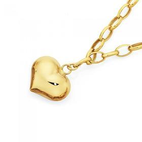 9ct-Gold-Hollow-18.5cm-Belcher-Bracelet on sale