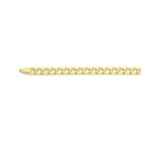 9ct-Gold-50cm-Curb-Chain on sale