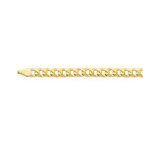 9ct-Gold-55cm-Curb-Chain on sale