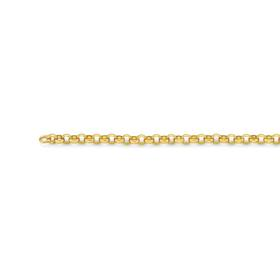9ct-Gold-55cm-Solid-Round-Belcher-Chain on sale