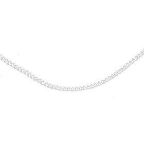 Silver-70cm-Solid-Curb-Chain on sale