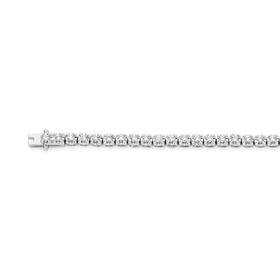 9ct-White-Gold-Diamond-Tennis-Bracelet on sale