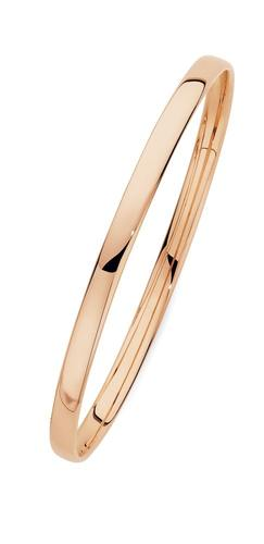 9ct-Rose-Gold-4.5x65mm-Solid-Comfort-Bangle on sale