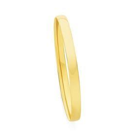 9ct-Gold-6x65mm-Solid-Half-Round-Oval-Comfort-Bangle on sale