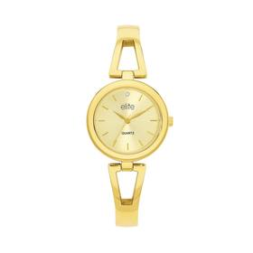 Elite-Ladies-Gold-Tone-Watch on sale