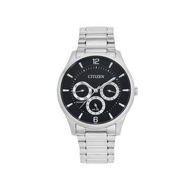 Citizen-Mens-Q-SS-WR50-Mineral-Black-Watch on sale