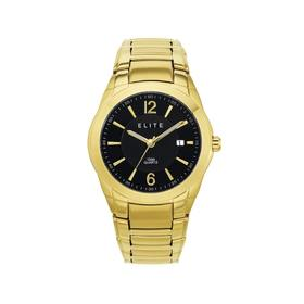 Elite-Mens-Gold-Tone-Watch on sale
