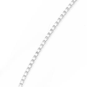 Silver-45cm-Box-Chain on sale